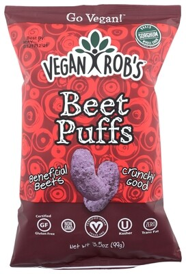 Vegan Rob's Snacks Beet Puffs