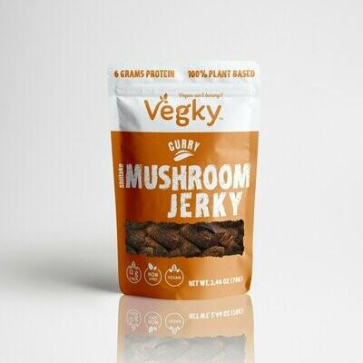 Vegky Mushroom Jerky Curry