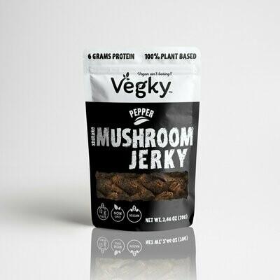 Vegky Mushroom Jerky Pepper
