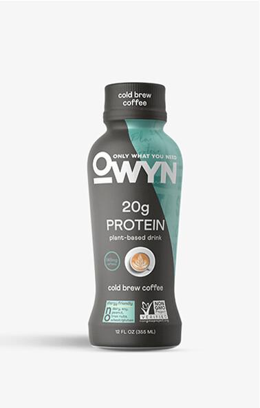 Owyn Drinks Cold Brew Coffee