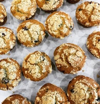 Fruit Crumb Muffins