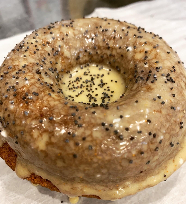 Seasonal Donuts - Lemon Poppyseed