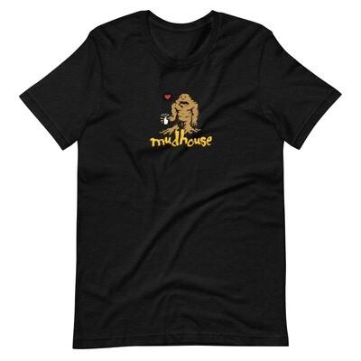 The Mud Monster Short-Sleeve Unisex T-Shirt