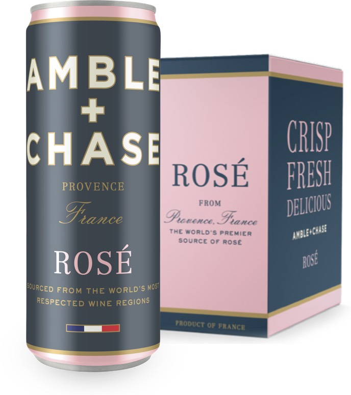 AMBLE CHASE ROSE CANS