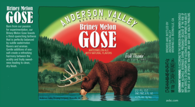 BRINEY MELON GOSE 6 PACK