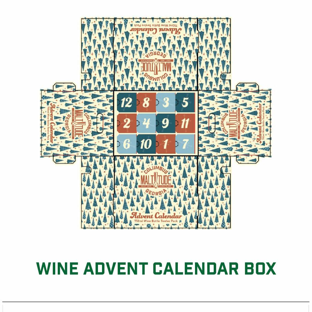 WINE ADVENT BOX
