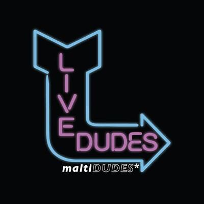 LIVE DUDES T SHIRT