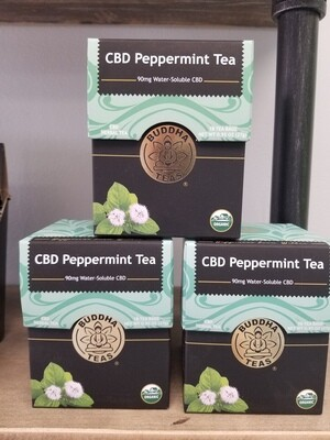 Buddha Peppermint CBD Tea