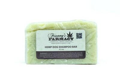 Dog Hemp Oil Shampoo Bar