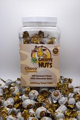Giraffe Nuts Caramelo Truffle, 30mg
