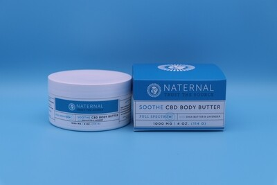 Naternal CBD Body Butter 1000mg