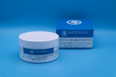 Naternal CBD Body Butter 2000mg
