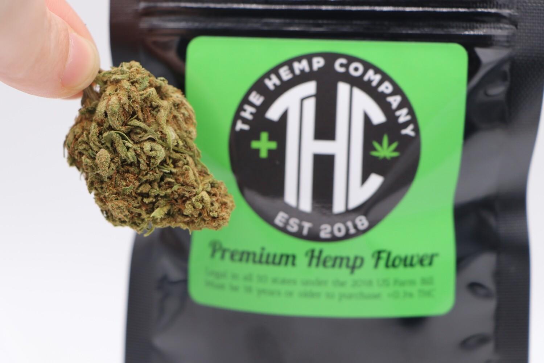 THC Premium Hemp Flower Hawaiian Haze 1/8