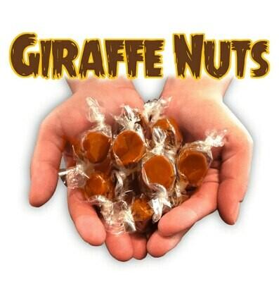 Giraffe Nuts 15mg CBD Caramels Atlantic Sea Salt, Single