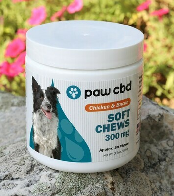 Paw CBD Soft Chews 300mg, 30ct