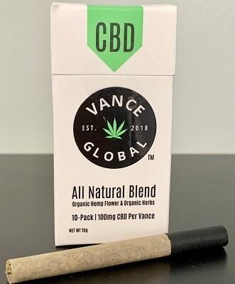 Vance Blended Hemp Cigarettes