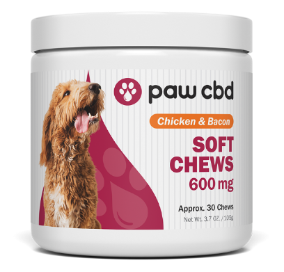 Paw CBD Soft Chews 600mg, 30ct