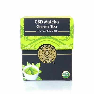 Buddha Matcha Green CBD Tea