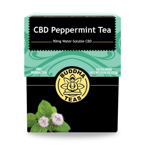 Buddha Peppermint CBD Tea
