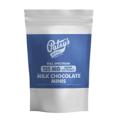 Patsy's Milk Chocolate Mini, 5 count