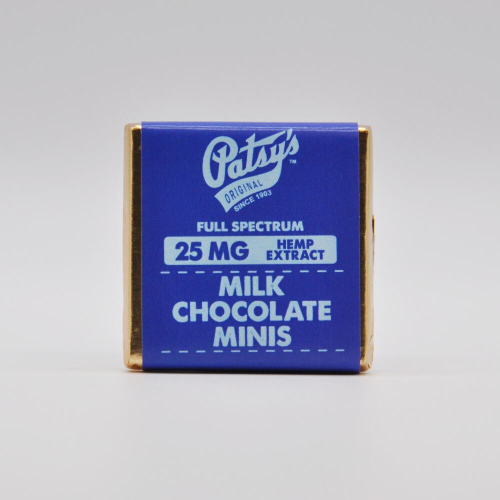 Patsy's Milk Chocolate Mini, 25mg