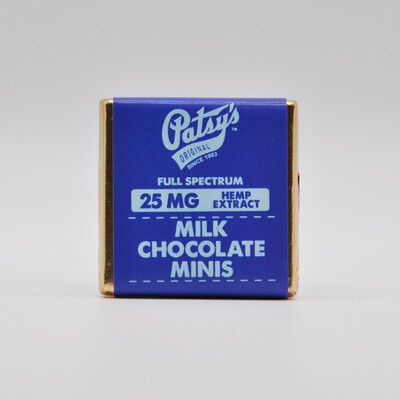 Patsy's Milk Chocolate Mini, 25mg