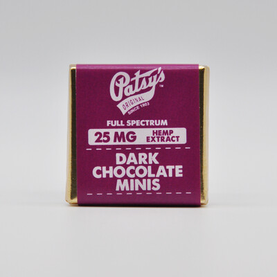 Patsy's Dark Chocolate Mini, 25mg