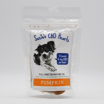 Suzie's Pet Treats 5ct - Pumpkin