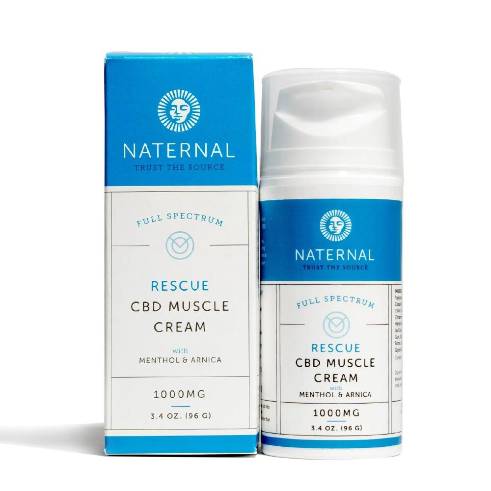 Naternal CBD Muscle Cream 1000mg