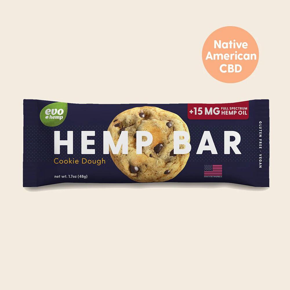 Evo Cookie Dough CBD Bar, 1.7oz