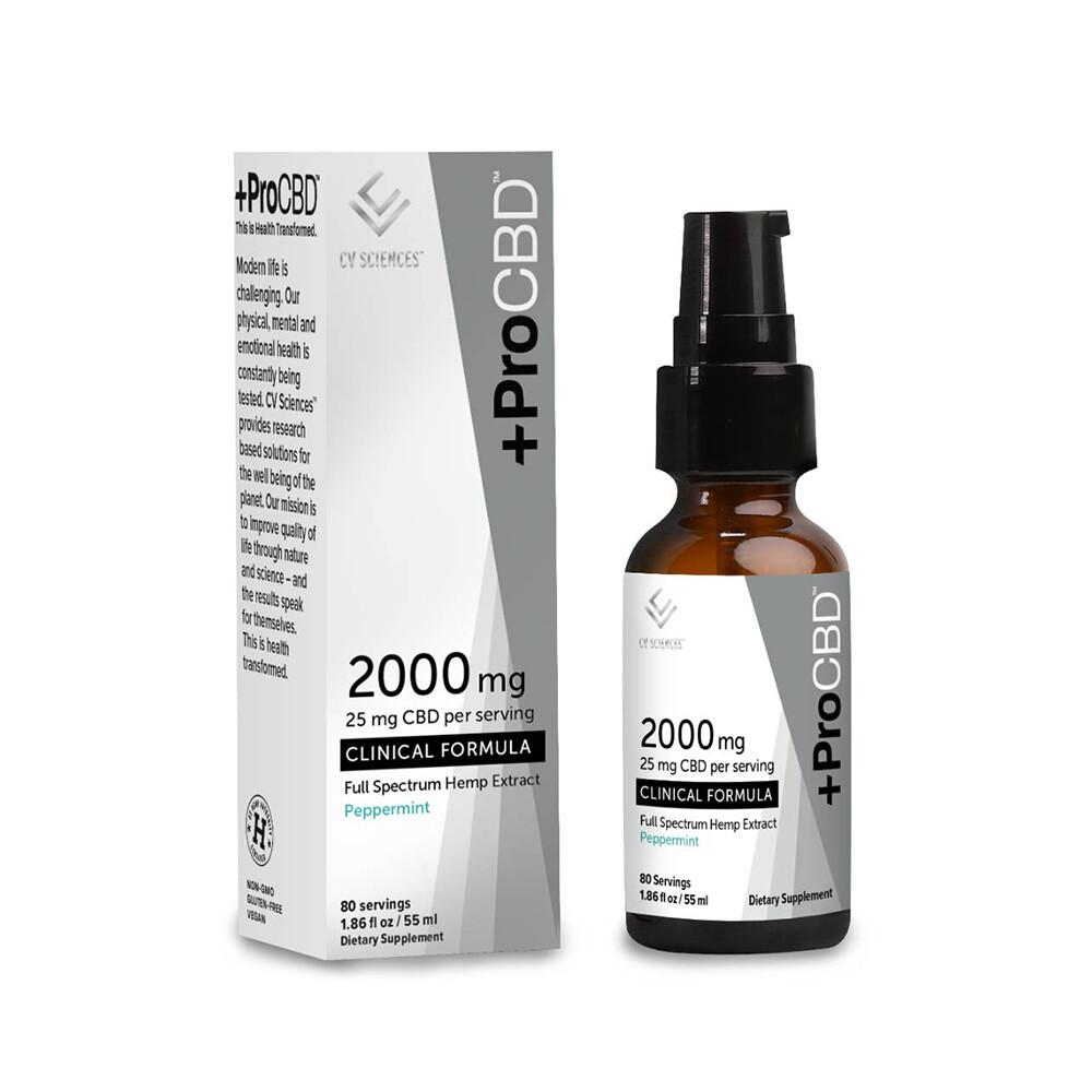 PlusCBD Pro 2000mg Peppermint, 60ml
