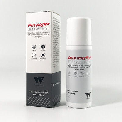 Pain Master Roll-On Pain Freeze 500mg