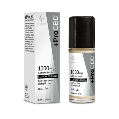 +ProCBD 1000mg Roll-On