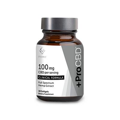 +ProCBD 100mg Softgels, 30ct
