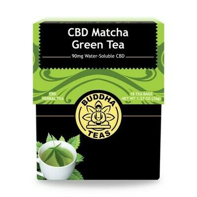 Buddha Matcha Green CBD Tea