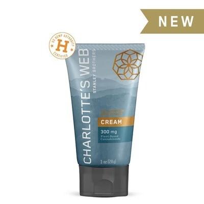 Charlotte's Web 300mg Cream, 1oz