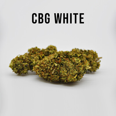 THC Premium Hemp Flower CBG White, 7 grams