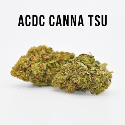 THC Premium Hemp Flower AC/DC Canna Tsu, 3.5 grams