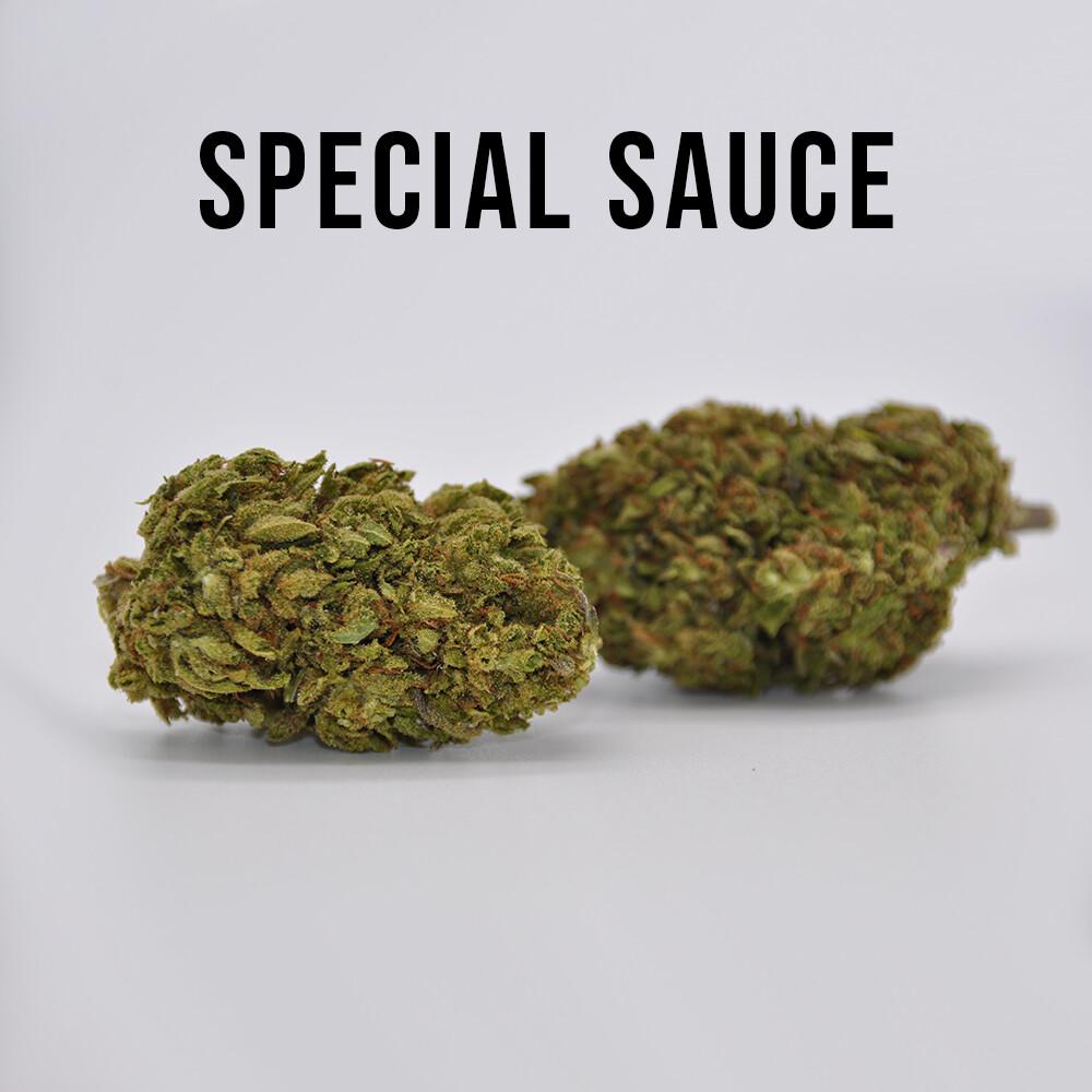 THC Premium Hemp Flower Special Sauce, 1 gram