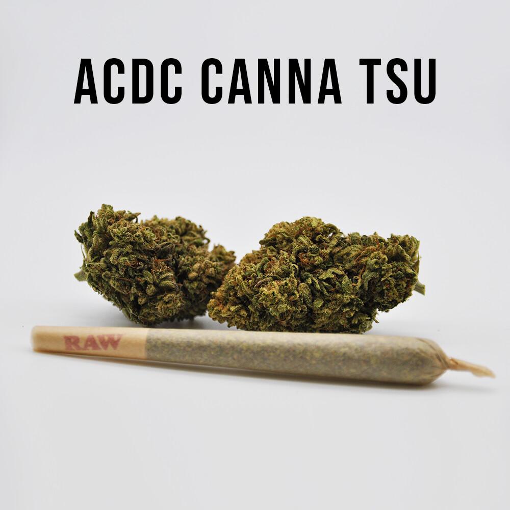 THC Premium Hemp Flower AC/DC Canna Tsu, 1g PreRoll