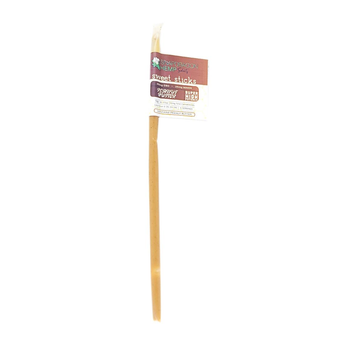 Delta 8 Peanut Butter Sticks, 35mg