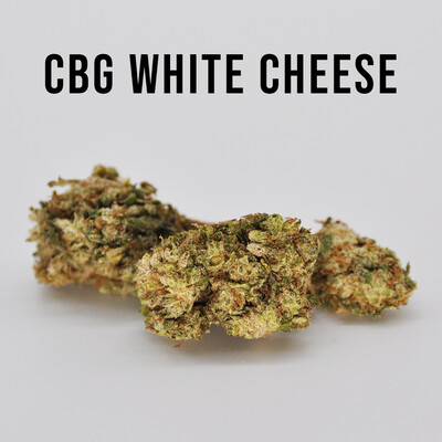 Delta 8 CBG White Cheese Hemp Flower - 1g PreRoll