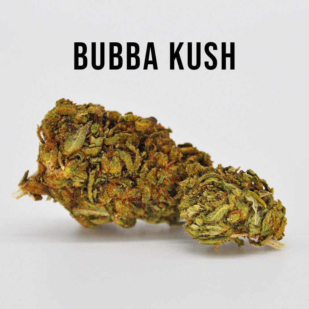 Delta 8 Bubba Kush Hemp Flower - 7 grams