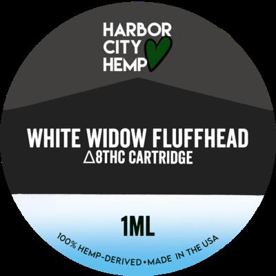 Harbor City Hemp Delta 8 vape 1ml White Widow Fluffhead