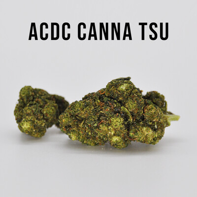 Delta 8 Ultra Potency AC/DC Canna Tsu - 7 grams