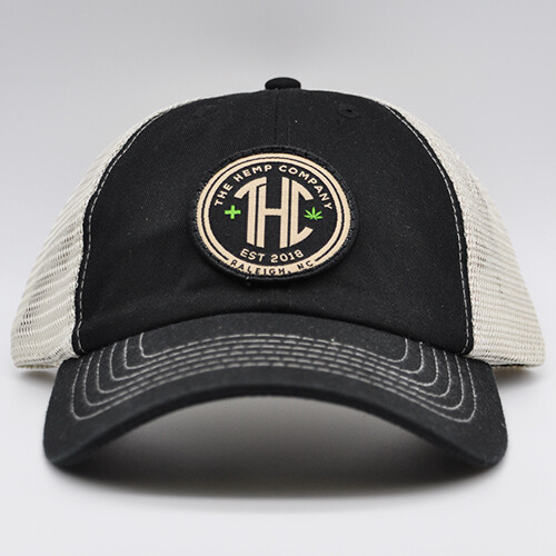 THC Trucker Hat - Black
