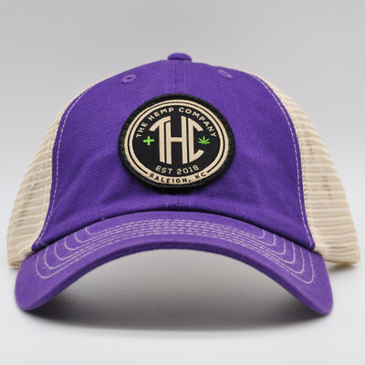 THC Trucker Hat - Purple