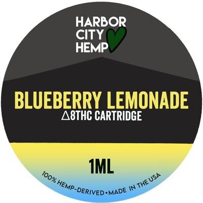 Harbor City Hemp Delta 8 vape 1ml Blueberry Lemonade