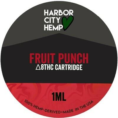 Harbor City Hemp Delta 8 vape 1ml Fruit Punch