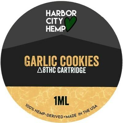 Harbor City Hemp Delta 8 vape 1ml GMO Cookies